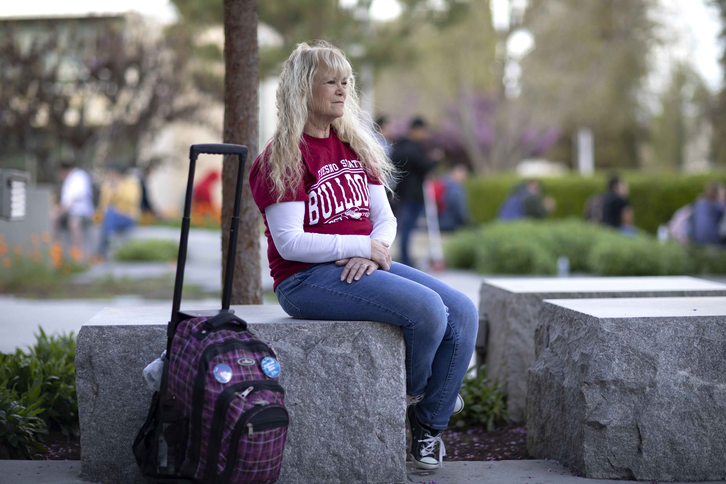 California Seniors Head Back To College To Get A Better Job Or Just To Get A Degree